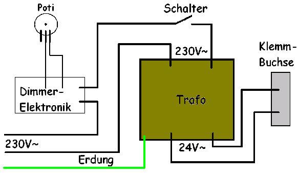 Ausgezeichnet Drei Dimmer Schalter Lichtschaltplan Galerie - Der ...